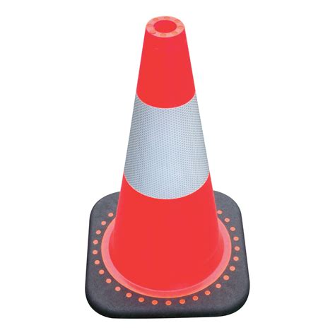 cone collar jbc revolution series traffic cone orange with 3m reflective collar 18in model