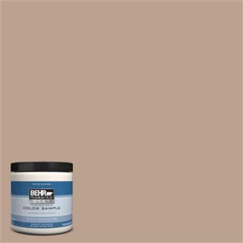 behr premium plus ultra 8 oz t15 17 mocha foam satin interior exterior enamel paint sle