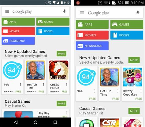 Play Store Search New Search Bar Play Store The Android Soul