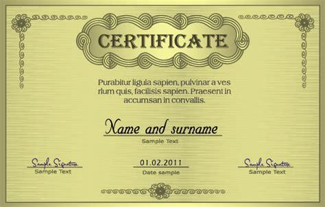 certificate design models european certificate 04 vector download free vector 3d