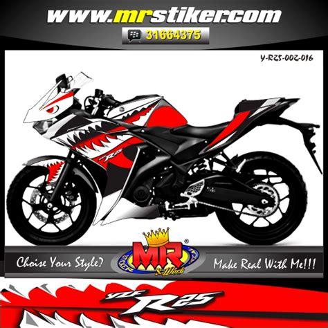 Decal Sticker Striping Yamaha Nmax Speed yzf r25 shark beat stiker motor striping motor suka