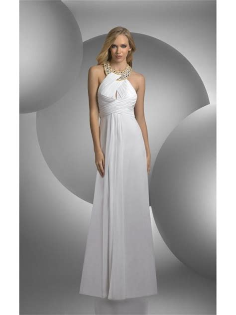 White Floor Length Dresses by Attractive White Sheath Floor Length Dress 2114286