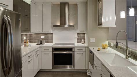 Contemporary Chic Condo Kitchen   Drury Design