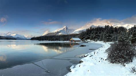 frozen mountain wallpaper frozen lake wallpaper