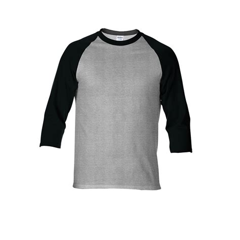 Kaos Raglan 3 4 Gildan 76700 Premium Cotton Xs Xl gildan premium cotton 3 4 sleeve raglan t shirt