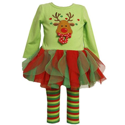 Dress Top Stripe With Tutu Pink fashion tutu top and green striped baby in clothing sets from