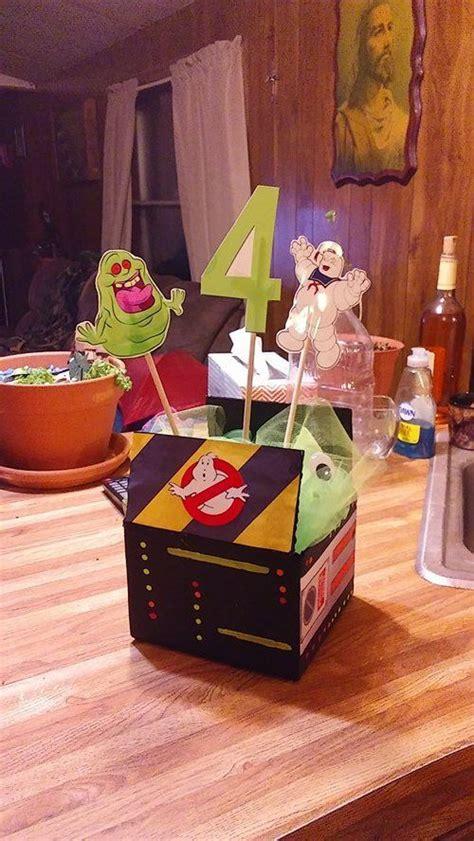 centerpiece ideen ghostbusters centerpiece birthday essayer