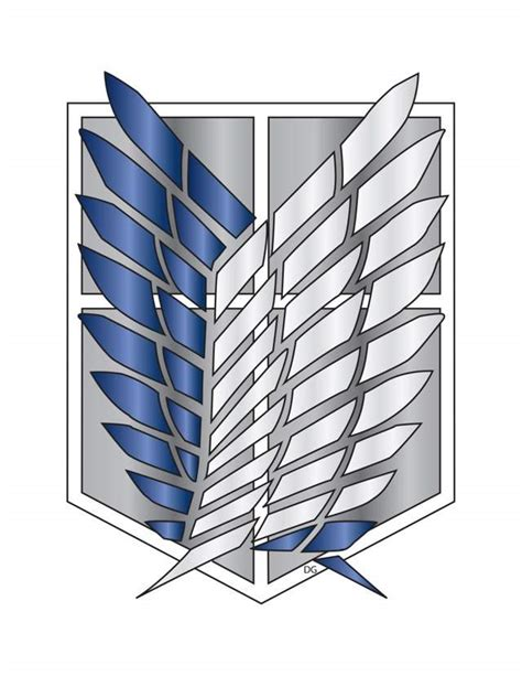 Survey Corps Anime anime survey corps logo pictures to pin on