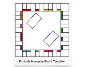 board template 6 best images of printable monopoly board and cards