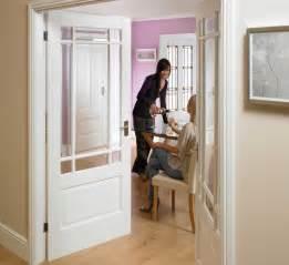 White Glass Interior Doors Downham Glazed White Doors