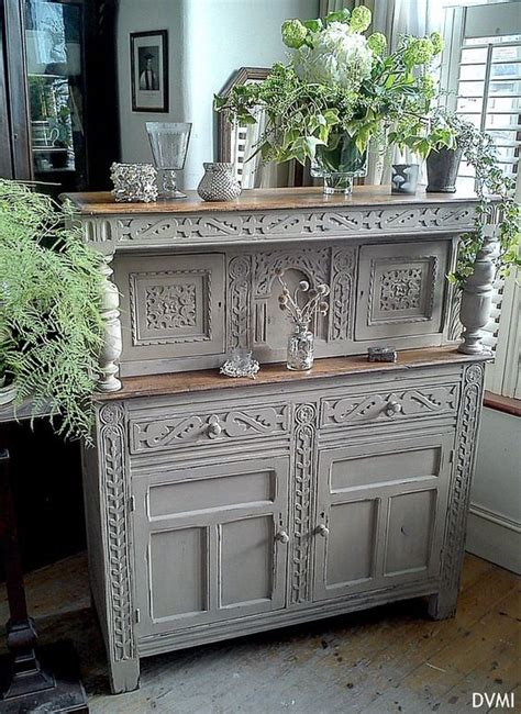 shabby chic antiques oak dresser cupboards and shabby chic on