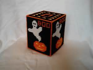 halloween tissue box cover halloween tissue box cover plastic canvas pdf pattern
