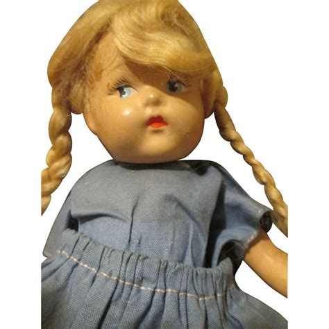 vogue composition doll antique composition toddles by vogue early doll