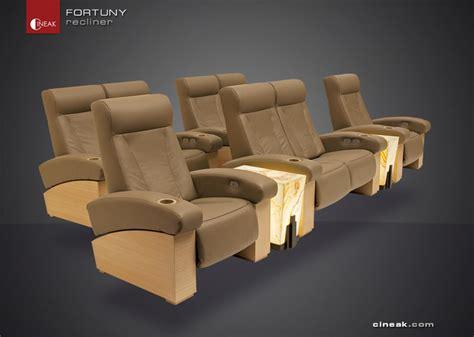 cineak fortuny luxury home theater seats modern by