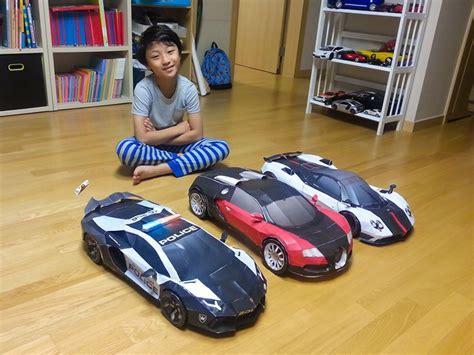 Bugatti Veyron Papercraft - bugatti veyron lamborghini aventador and pagani zonda diy