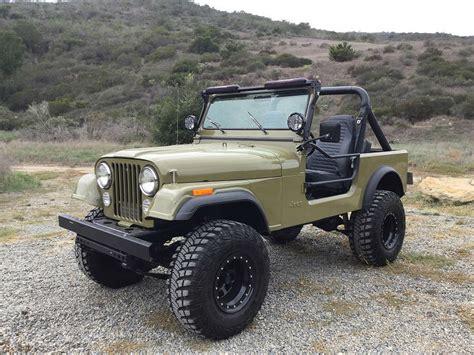 1981 Cj7 Jeep For Sale 1981 Jeep Cj7