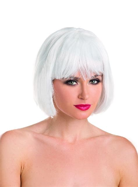 short bob with fring pieces women s synthetic short bob wig w fringe bangs sexy