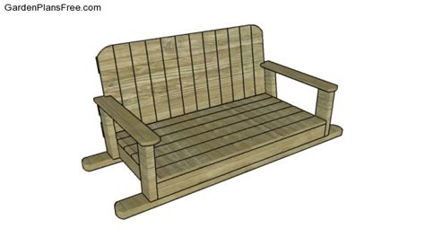 bench swing frame plans swing bench plans free garden plans how to build