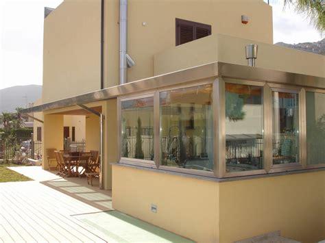 progetto veranda veranda secco sistemacciaio realizzato da pietro giuliano