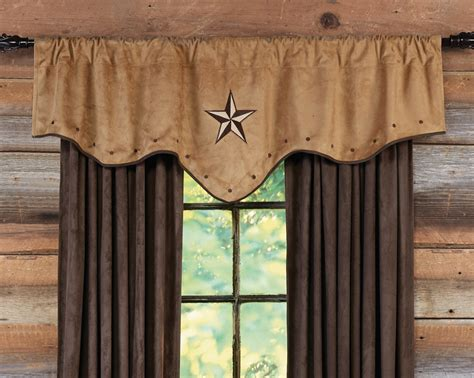 western curtains starlight trails adobe valance