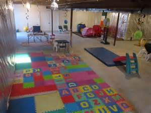 best 25 unfinished basement playroom ideas on