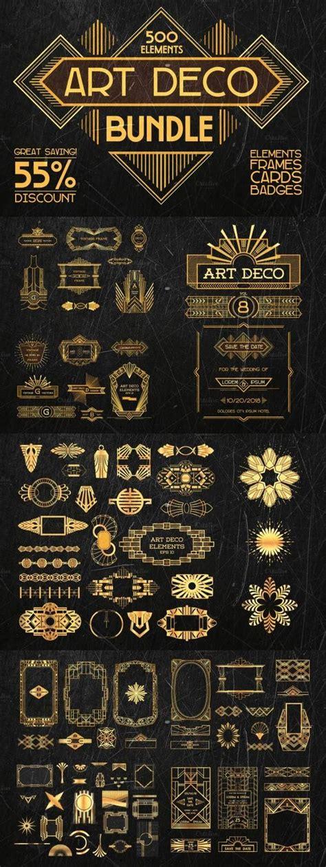 Jugendstil Deco 3786 by Deco Bundle 500 Elements Jugendstil 20er Jahre Und