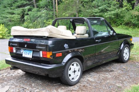 how petrol cars work 1987 volkswagen cabriolet seat position control 1993 volkswagen cabriolet classic convertible 2 door 1 8l for sale in falls village connecticut