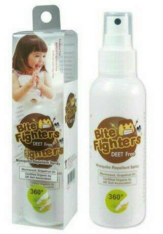 jual beli us baby bite fighters organic mosquito repellent
