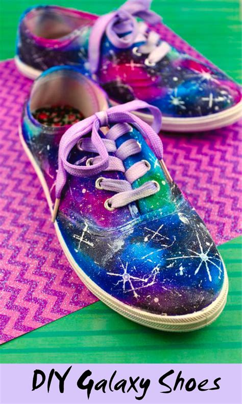 diy galaxy shoes tutorial diy galaxy shoes the trophy wifestyle
