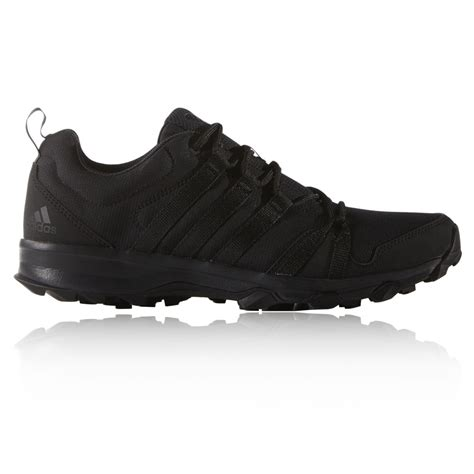 mens black sports shoes adidas rocker mens black traxion trail walking outdoors