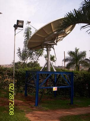vsat satellite dish installer uganda