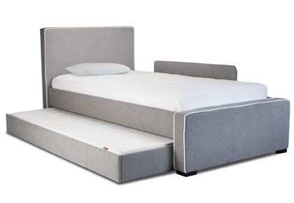 modern trundle beds modern dorma upholstered bed accessories by monte design