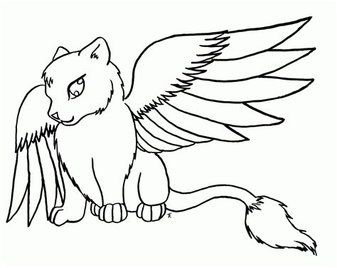 coloring pages of cute wolves wolves with wings coloring pages coloring home