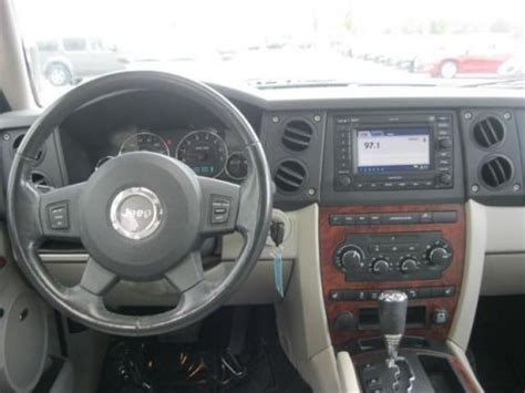 2007 Jeep Commander Radio Sell Used 2007 Jeep Commander Limited In 8867 East Highway