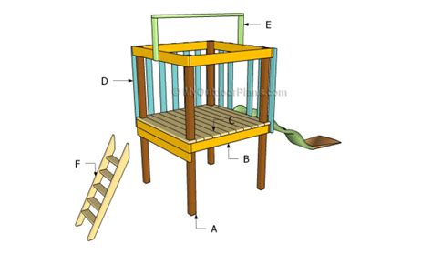 Backyard Fort Plans by Backyard Fort Plans Myoutdoorplans Free Woodworking