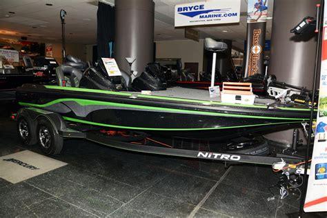 nitro bass boat green nitro z19 z pro package bass boats new in rochester ny