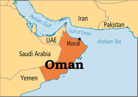 oman in the world map oman operation world