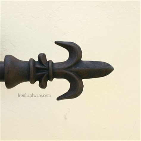 wrought iron curtain rods and finials iron curtain rod finials paso robles ironworks