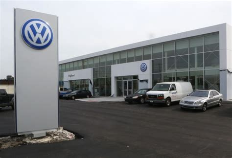 volkswagen dealership opens  highland