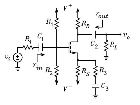 degeneration resistor common source i o resistance of common source mosfet with source degeneration electrical engineering stack