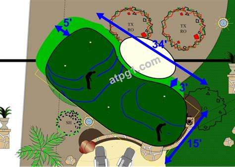 wholesale putting greens free putting green designs plans