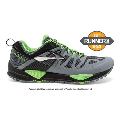 road runner sports shoes mens cascadia 10 trail running shoe at road runner