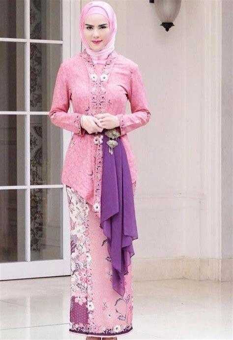 aneka gambar kebaya aneka model kebaya muslim modis paling menjadi favorit