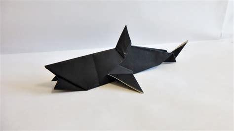 Origami Sharks - easy origami shark 折り紙 折り方 サメ doovi