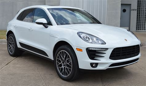 2016 Porsche Macan S White Black Rpm Sportscars Not