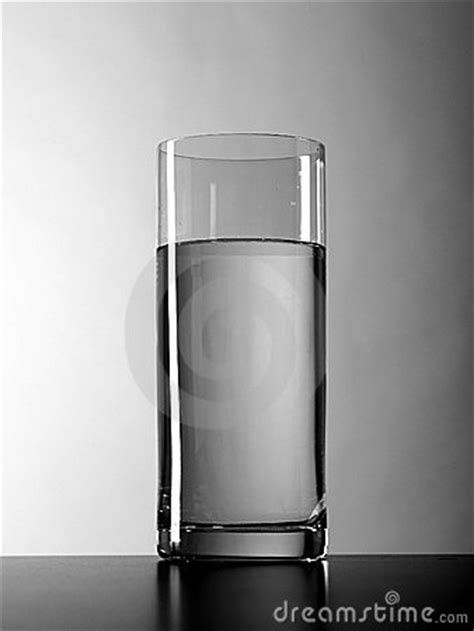Vase Of Water by A Vase Is Gap Filling Clear Water Royalty Free Stock