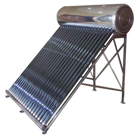 solar water heater stainless steel compact solar water heater 80 gallon solar water tank n 280 2 004