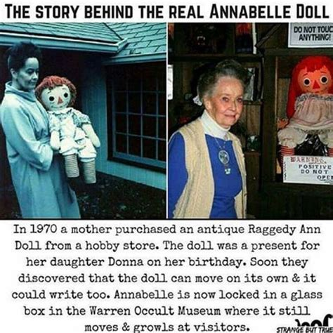 annabelle doll true story the true story of the annabelle doll ed lorraine