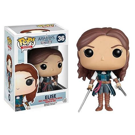 Funko Elise Pop Vinyl 5254 assassin s creed unity elise pop vinyl figure funko