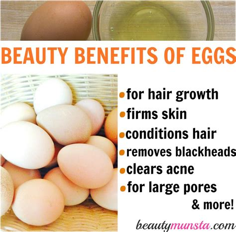the health benefits of organic eggs 12 beauty benefits of eggs beautymunsta
